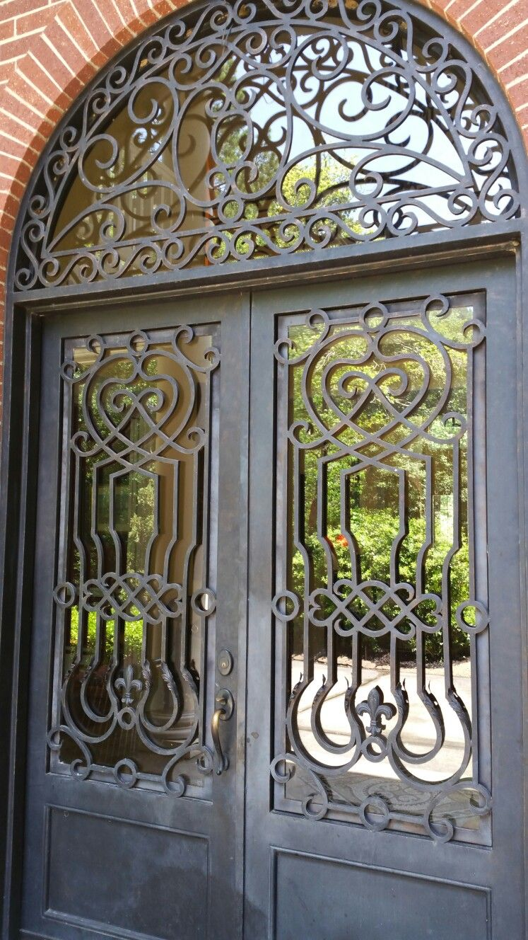 Houston Magnolia Iron Doors Doors Architecture