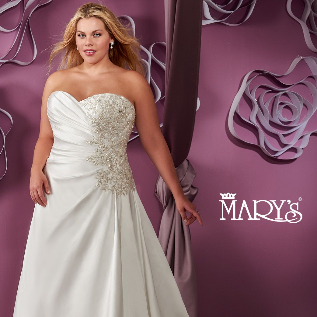 Bridal Gowns - Moda Bella - Style: 3y395 by Mary\'s Bridal Gowns ...
