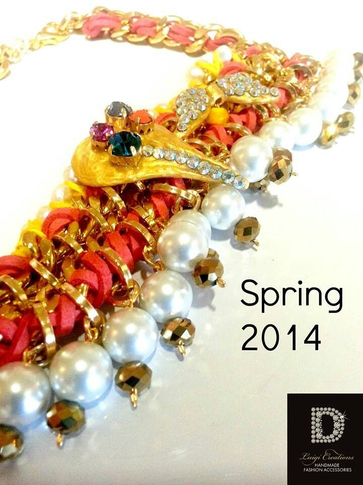#luigi #creations #colorTherapy #collection #necklace #spring14 #stylish