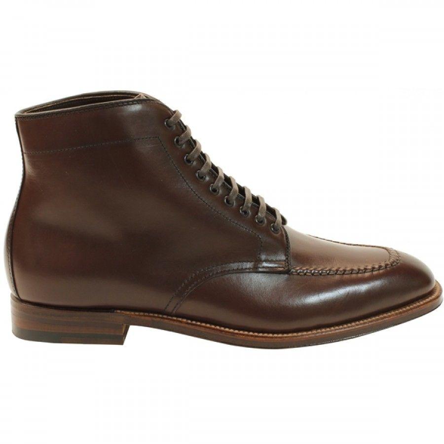 Alden Men's 45212 - Handsewn Vamp Boot - Brown Smooth Calfskin | TheShoeMart.com