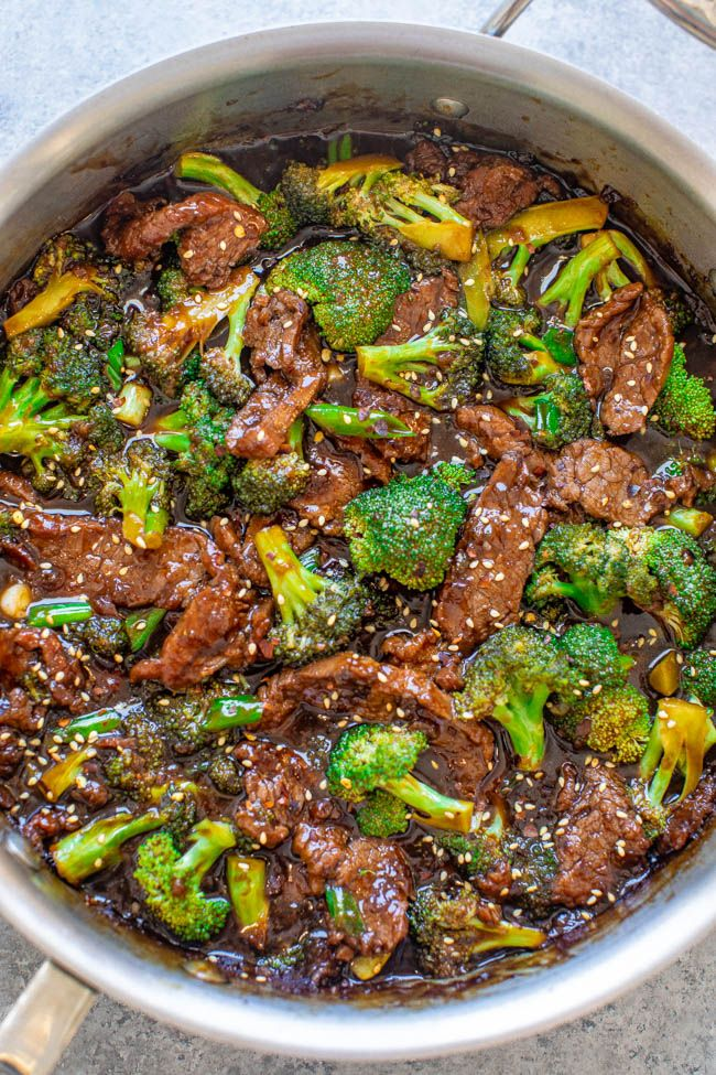 Better-Than-Takeout Beef With Broccoli #beefandbroccoli