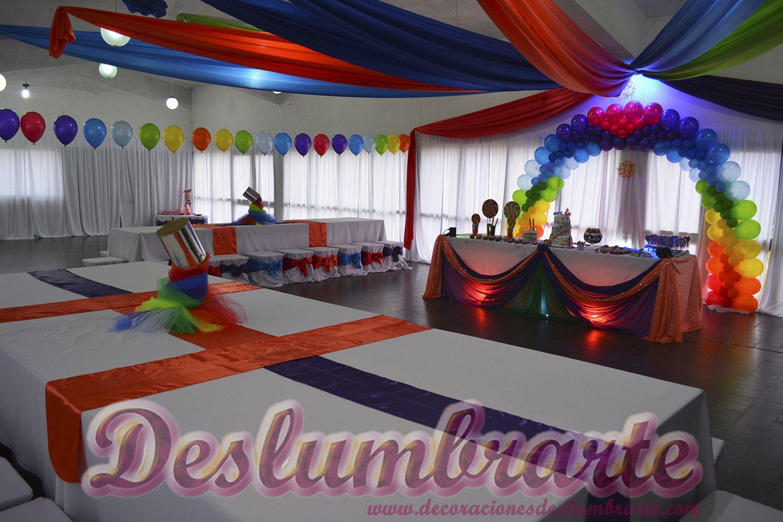 decoraciones de fiestas con telas y luz - Buscar con Google