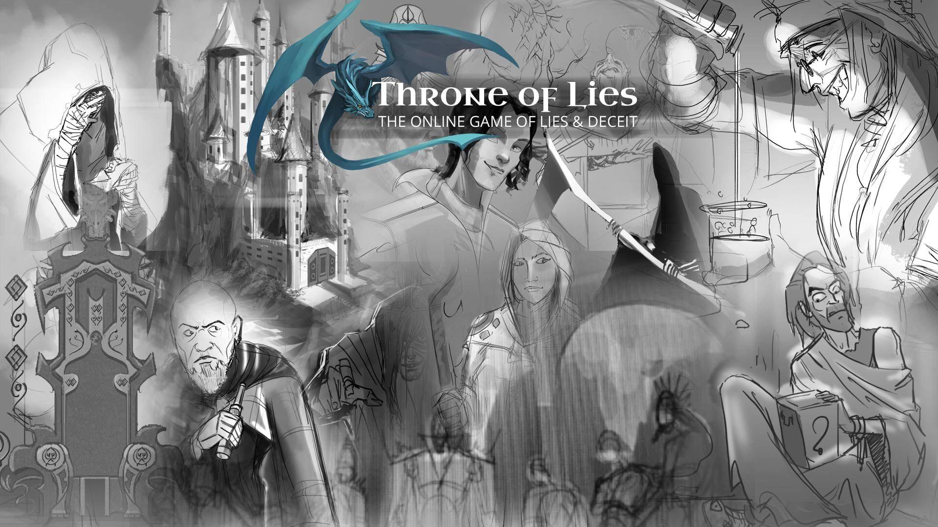 Live on kickstarter Kickstartergame ThroneofLies Gamer