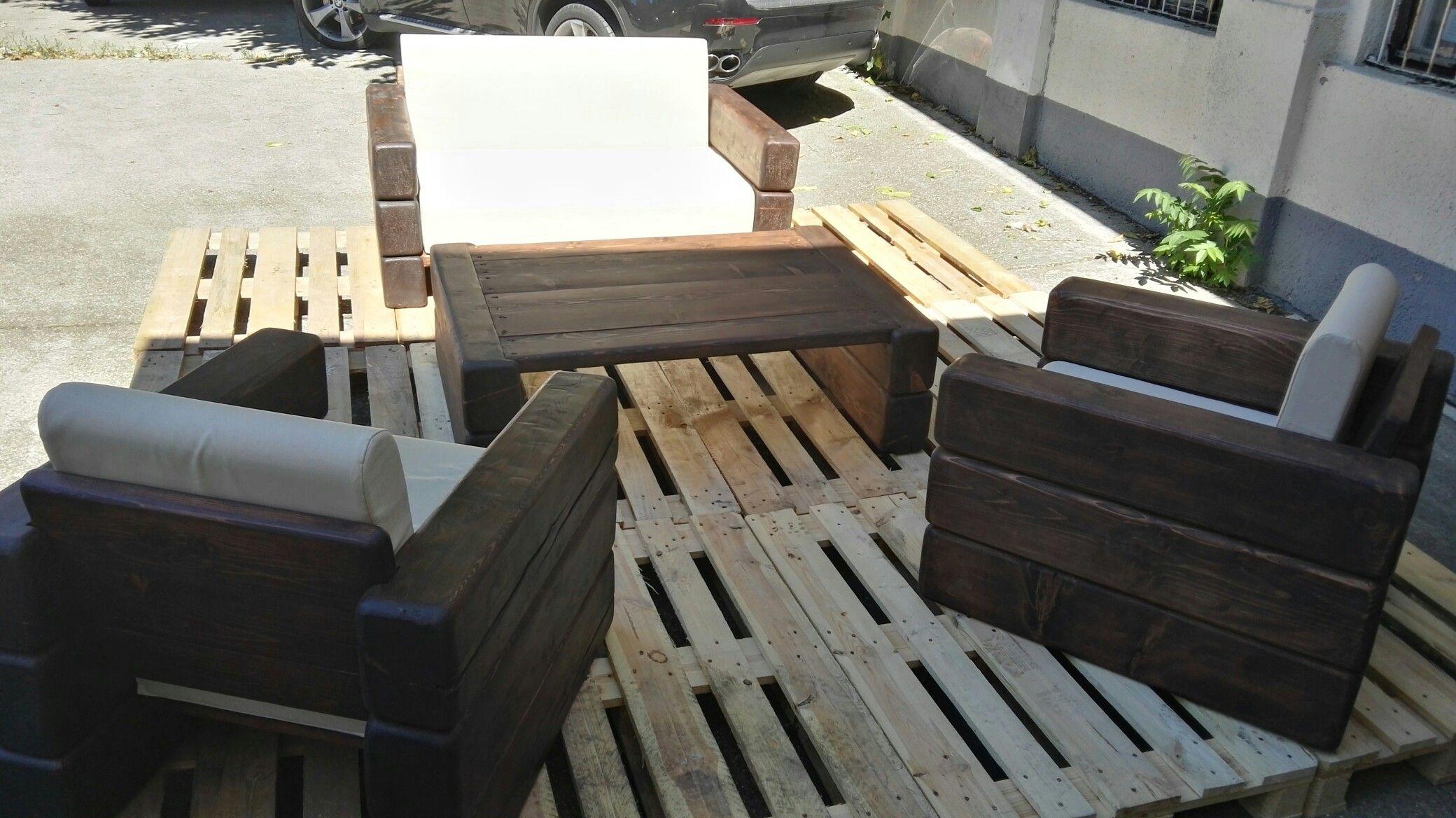 Handmade Pine Beam Furniture