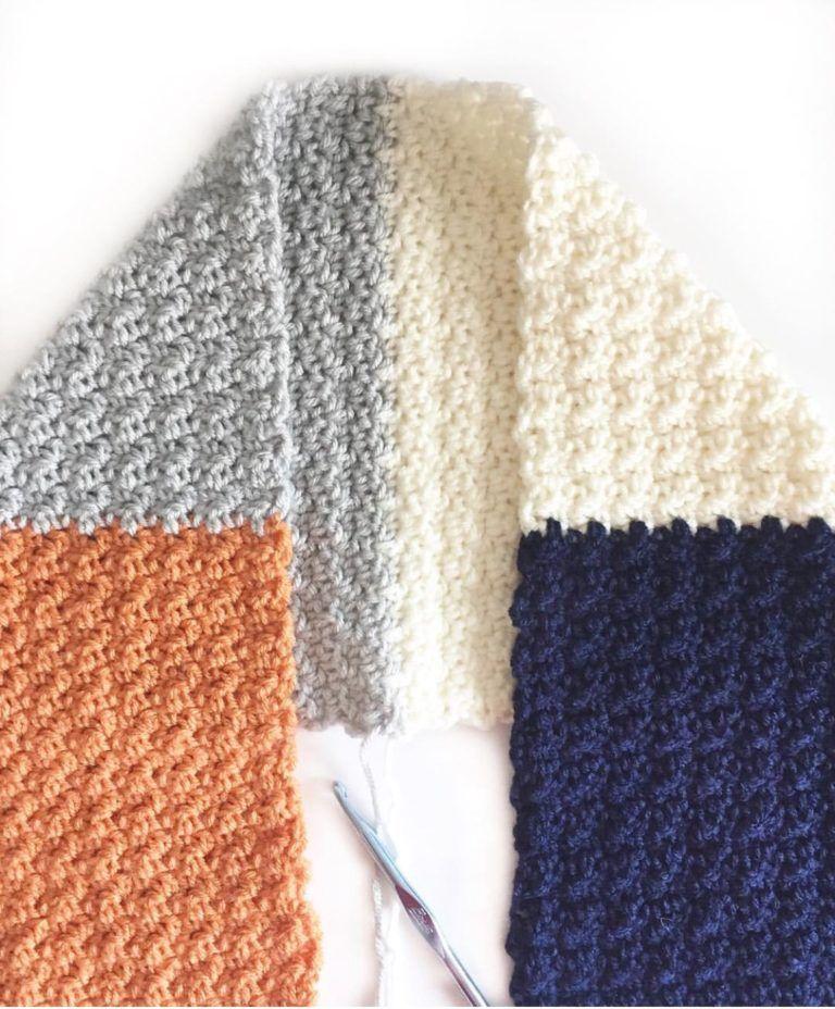 crochet griddle stitch scarf | Crochet patterns | Pinterest