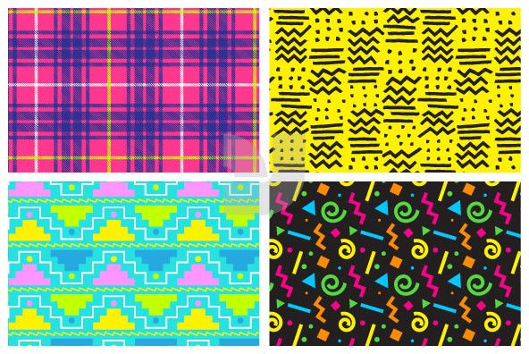 Pleasant 90S Fever 80S 90S 90S Colors 90S Pattern 90S Design Home Remodeling Inspirations Cosmcuboardxyz