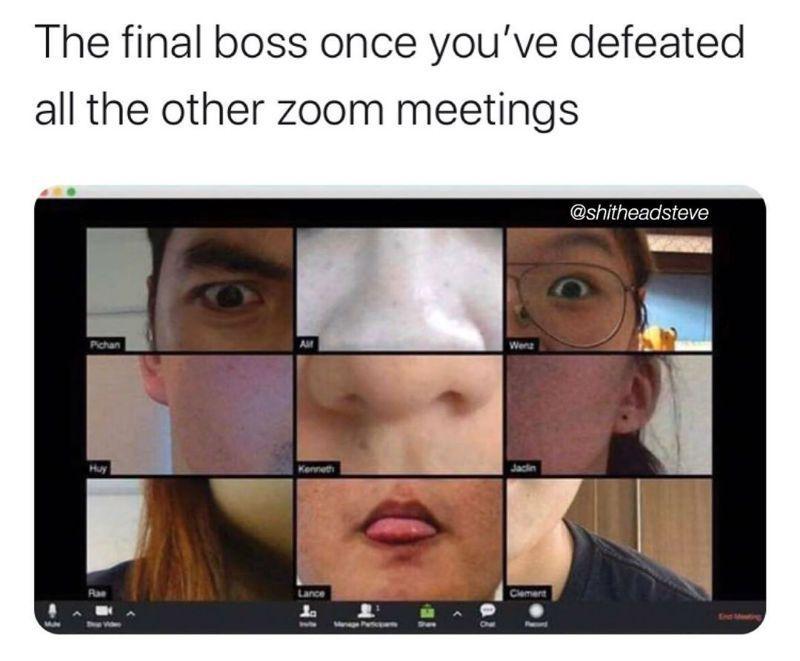 Pin On Zoom Meeting Memes Covid Memes