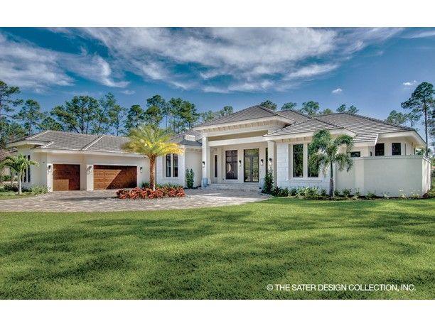 Mediterranean Style House Plan 4 Beds 4 5 Baths 4030 Sq Ft Plan 930 473 Mediterranean Style House Plans Florida House Plans Mediterranean Homes