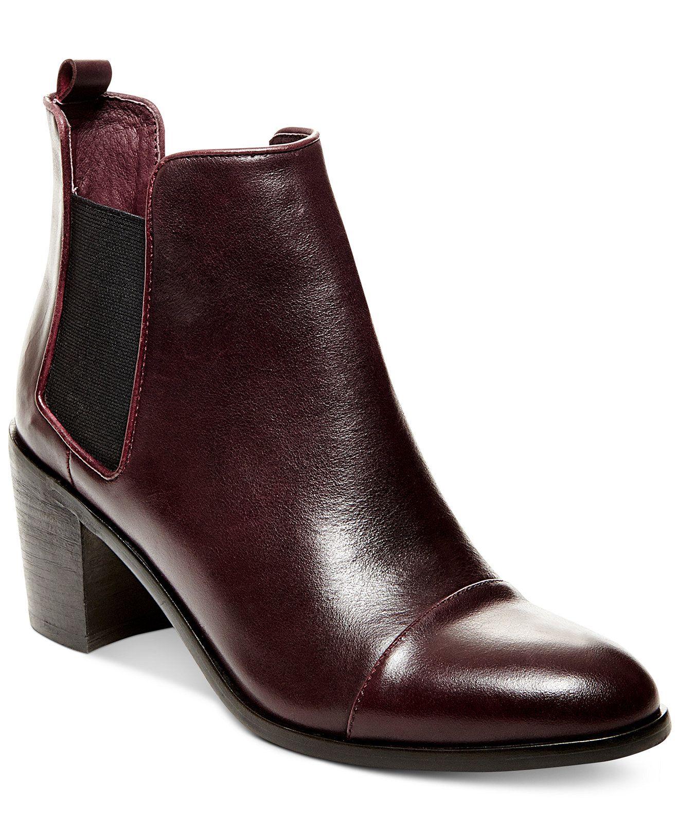70e73a298dc STEVEN by Steve Madden Imaginn Booties - Booties - Shoes - Macy's ...