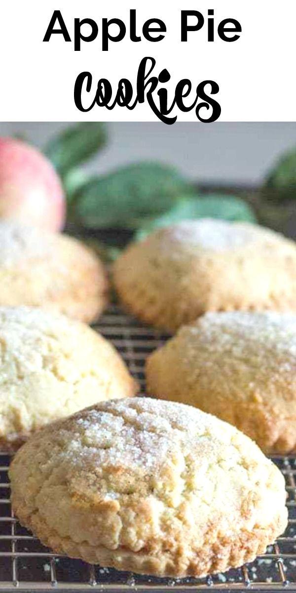 Homemade Apple Pie Cookies