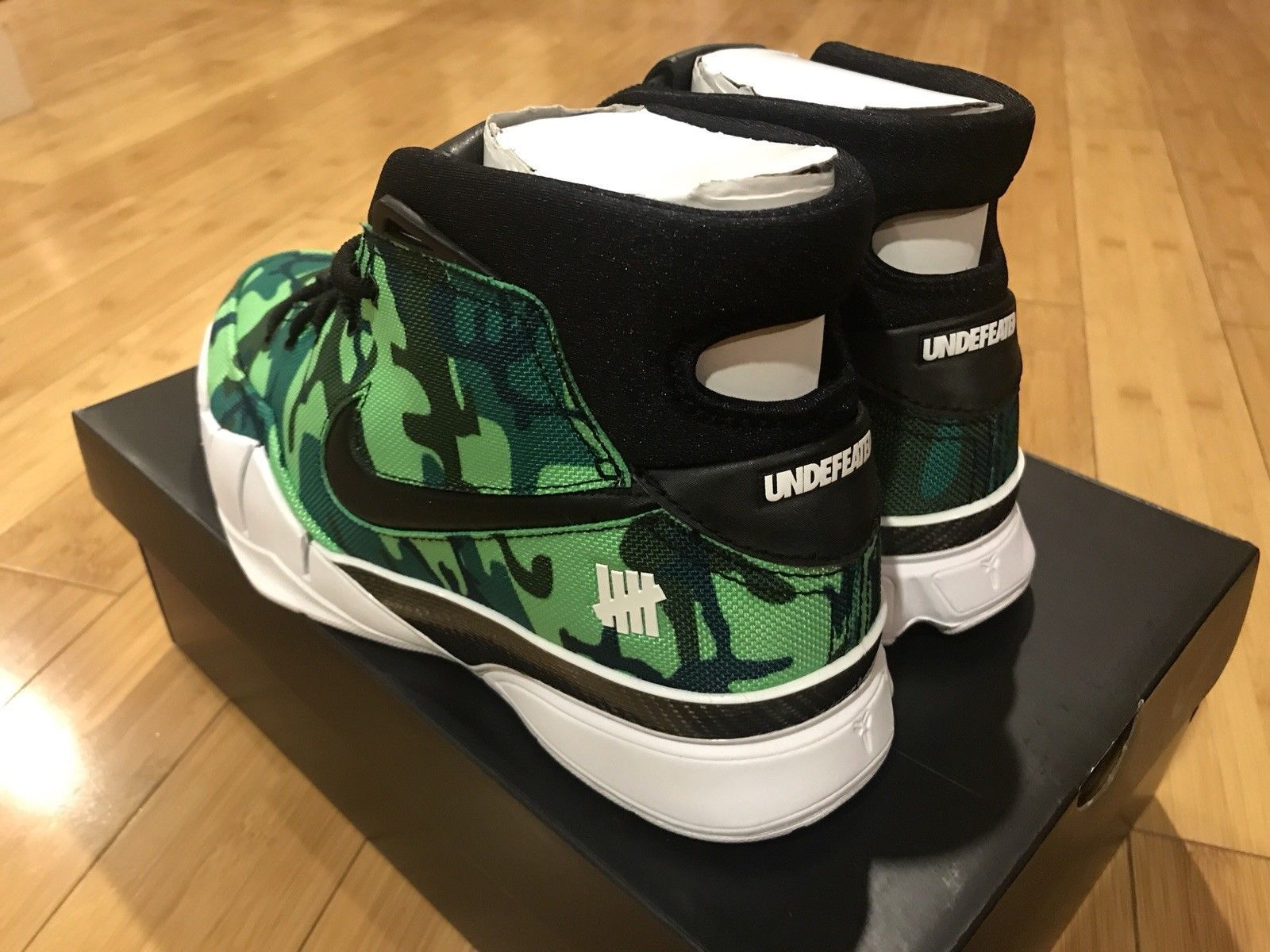 san francisco c6599 2444b Nike Kobe 1 Protro PE Undefeated Exclusive Sz 10.5 Green Camo Giannis  Silverlake