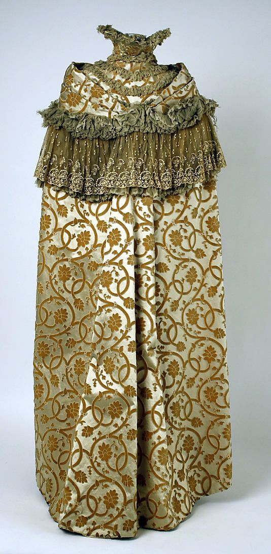 Opera.  House of Worth(French, 1858–1956).  Date: ca. 1899. Culture: French. Medium: silk.