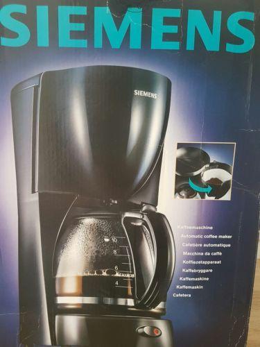 Siemens TC24011V 10 Tassen Kaffeemaschine schwarz ohne Kaffeekanne