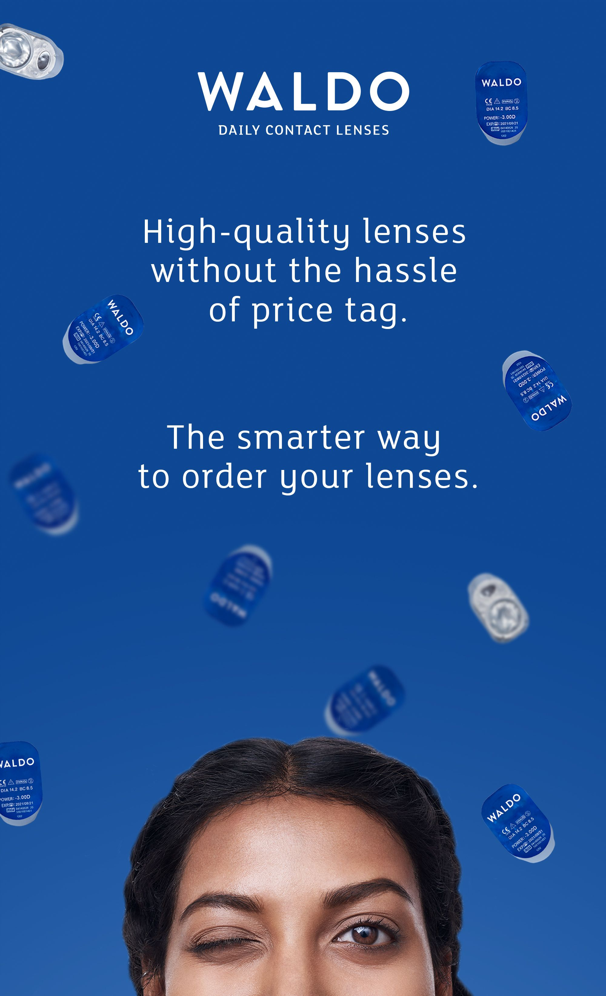 High-quality daily contact lenses without the hassle or price tag