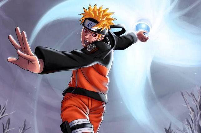 Naruto Nine Tails Chakra Mode Rasengan Bing Images Naruto Vs Sasuke Anime Naruto Naruto