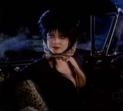 E quem não se lembra do filme Elvira: A Rainha das Trevas, lançado em 1988? A moça era conhecida por... - Divulgação