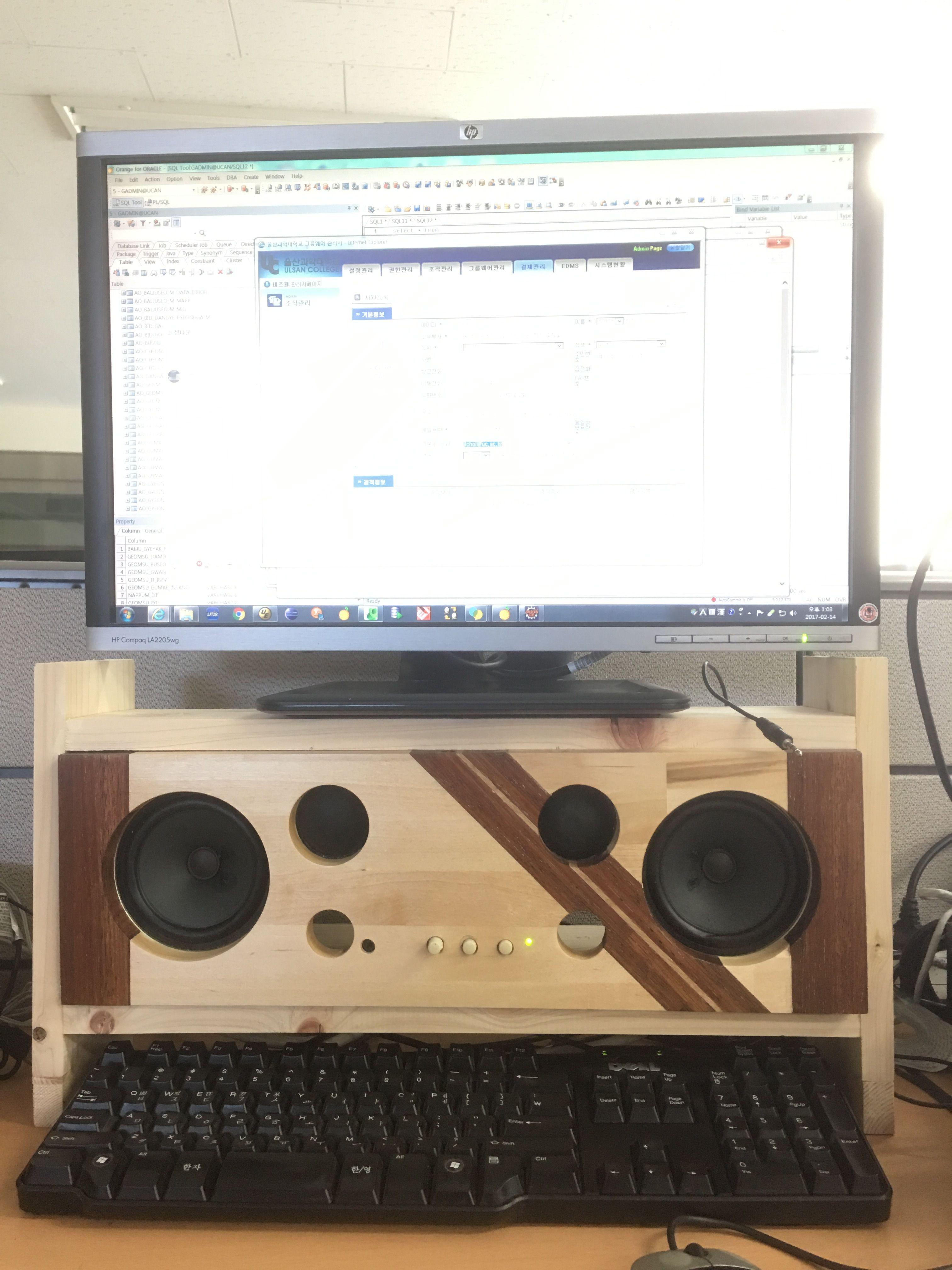 Computer speaker DIY | 공예