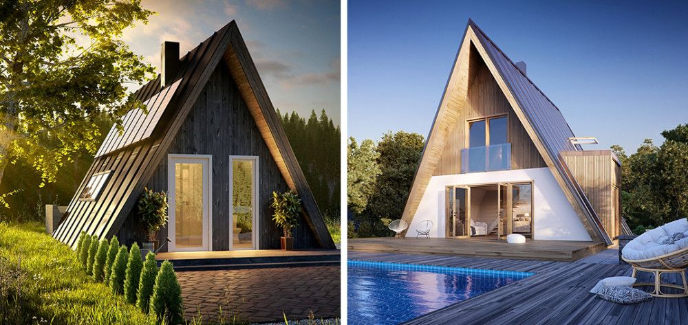 6 Prefab A Frame Cabin Kits You Can Buy Right Now A Frame Cabin