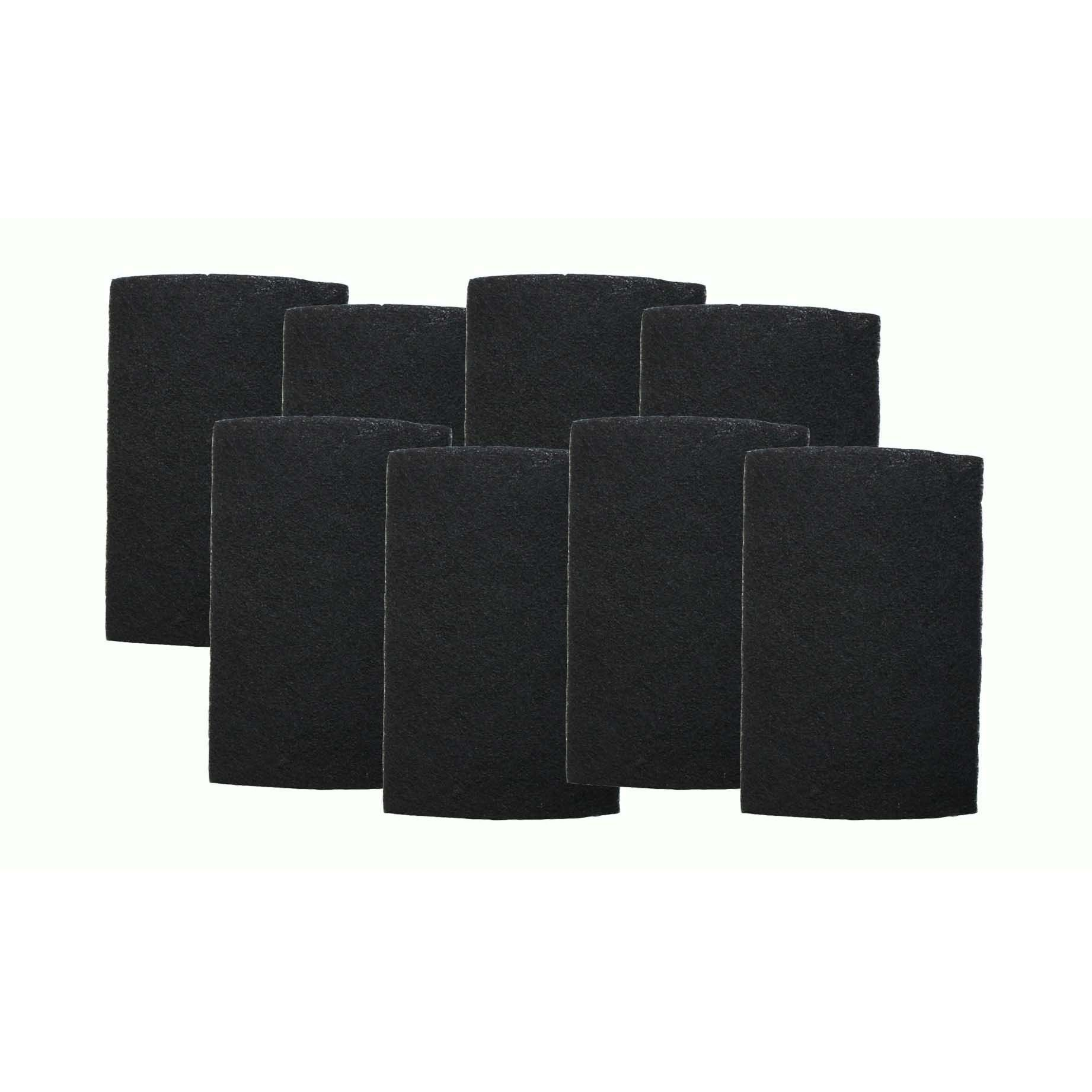 8pk Replacement Carbon Filters, Fits Holmes, Compatible
