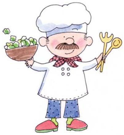 Cocinero Dibujo Dibujos Infantiles Cocineros Dibujos De