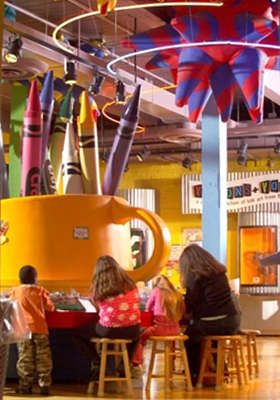 20 For Admission To 4 At The Crayola Factory In Easton Pa That Is Half Off