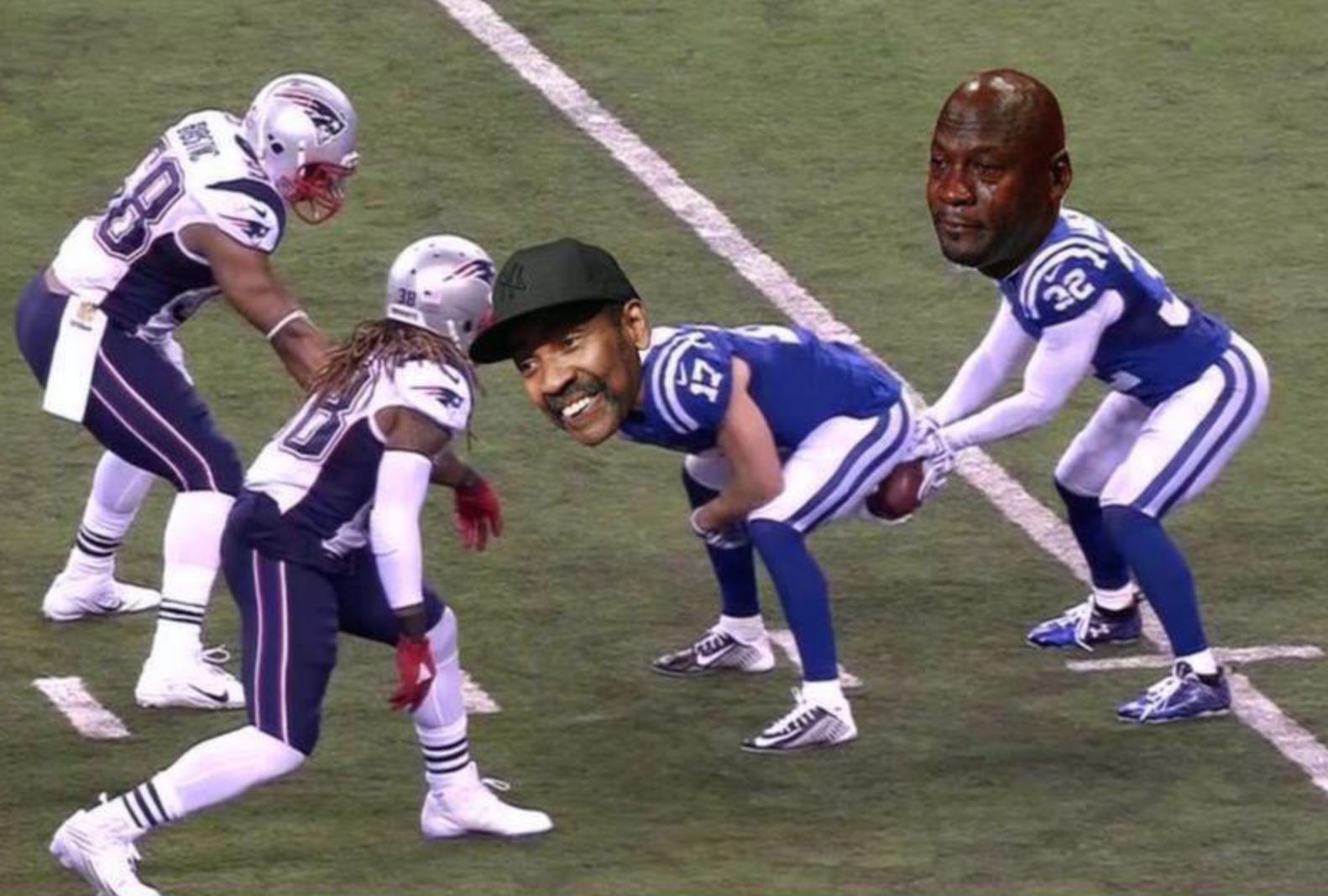Colts Make History Once Again But Not For Something Good This Time The Most Bizarre Play Of All Time Was Called A Miscom With Images Nfl Memes Funny Nfl Funny Nfl
