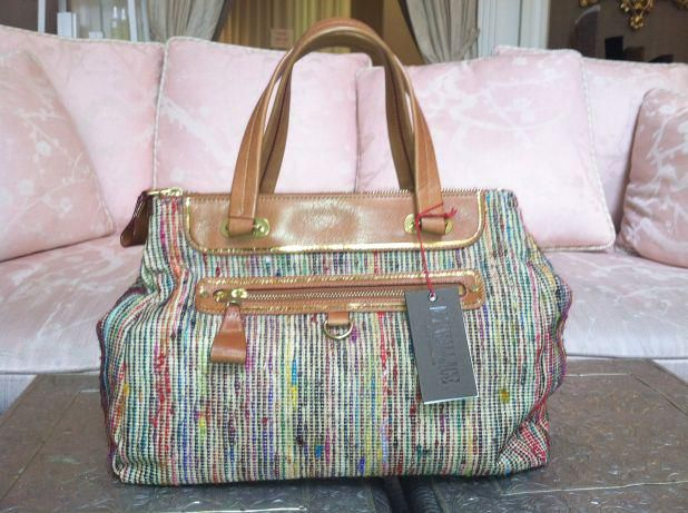 MZ Wallace colored tote