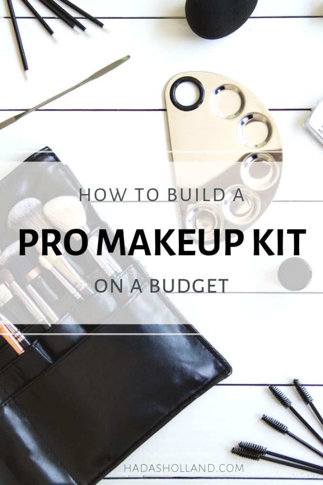 professional makeup kit essential. here is a makeup artist