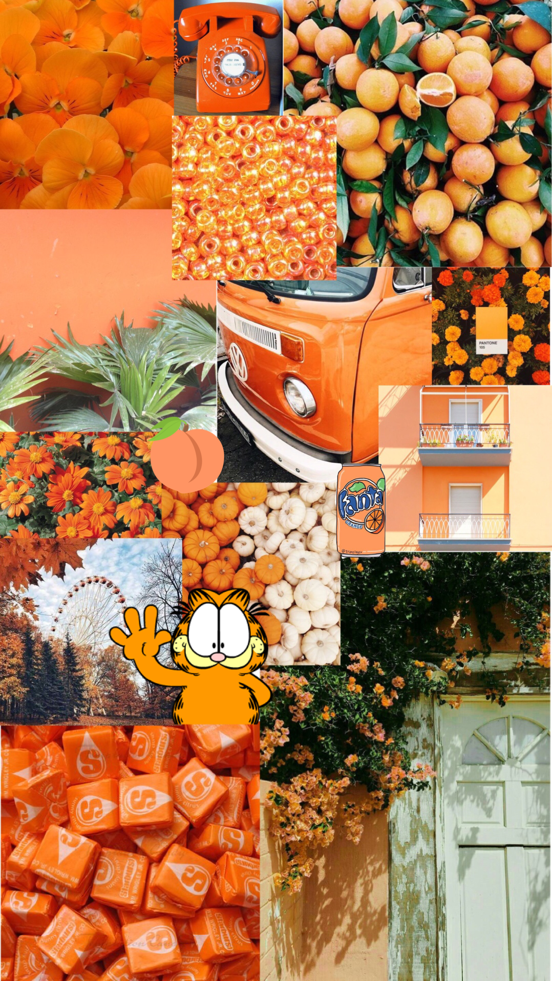 Orange Aesthetic Wallpaper Hd