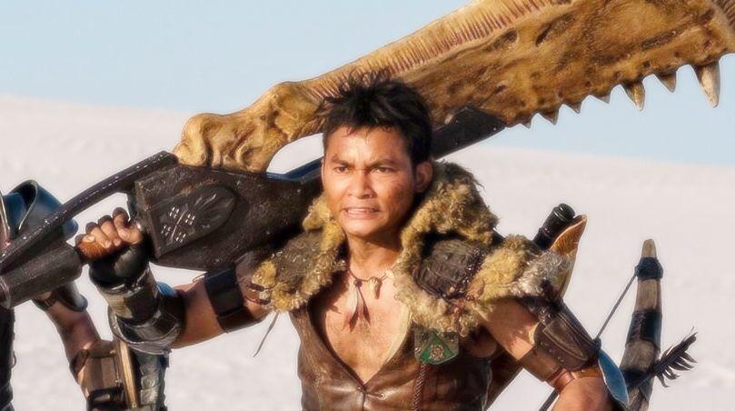 Tony Jaa Monster Hunter Film In 2020 Monster Hunter Movie Tony Jaa Hunter Movie