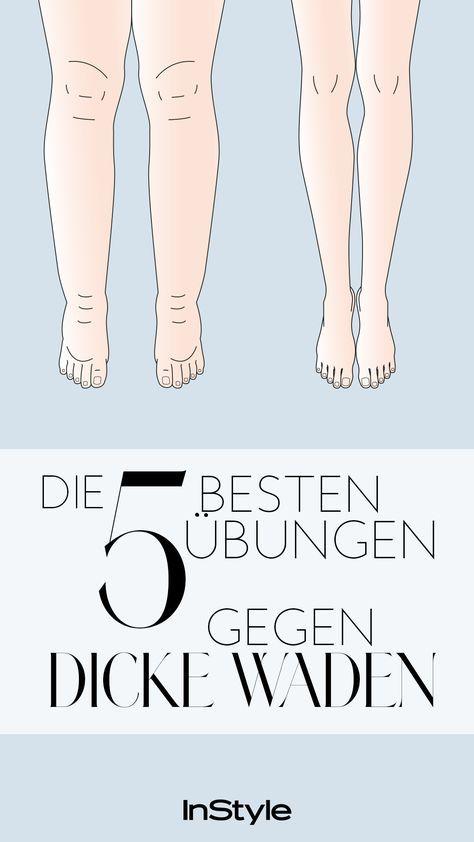 Dicke Waden: Diese fünf Übungen verhelfen dir zu schönen Beinen.