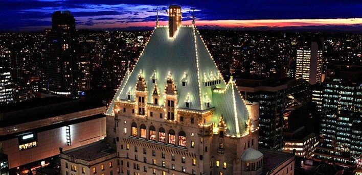 The Beautiful Fairmont Hotel In Downtown Vancouver Has Been Named One Of Top 10 Hotels Canada By Travel Leisure Magazine