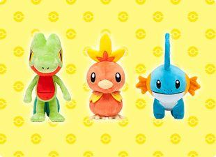 Pokepolitan: Life Size Hoenn Pokemon Center Plushies