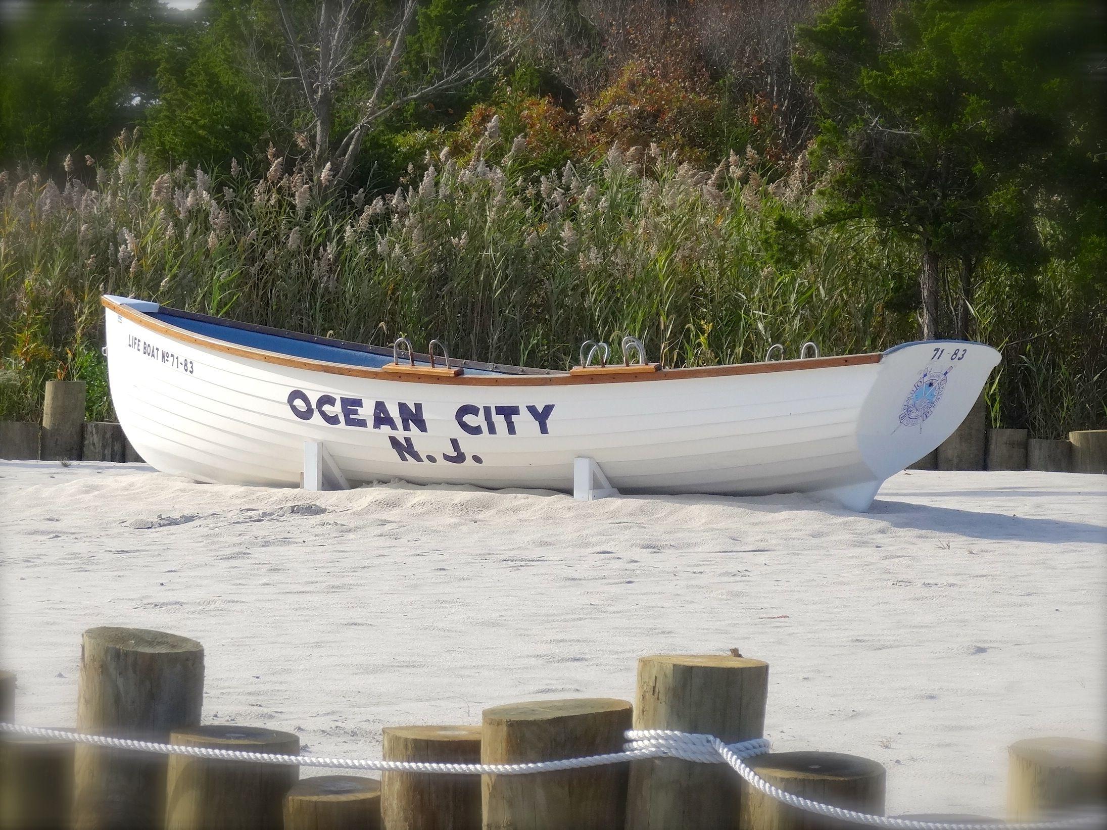 Classic ocean city lifeboat ocean city city ocean