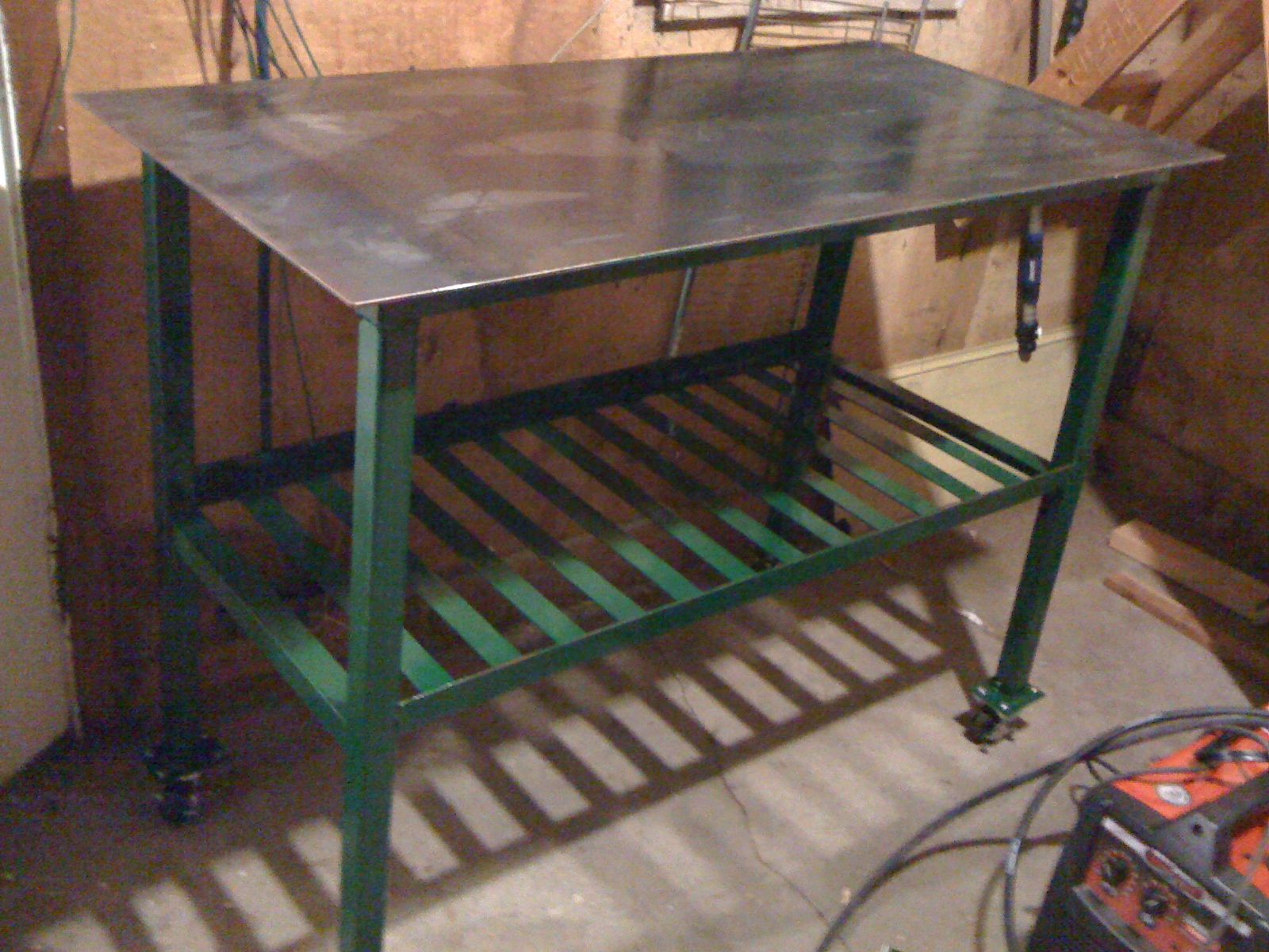 Enjoyable Small Project For A Mig Welder Is There Room In The Garage Download Free Architecture Designs Embacsunscenecom