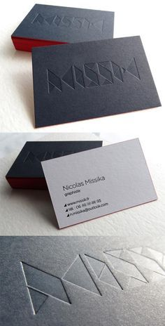 Black and white edge painted letterpress business card for a graphic cheap printed visit cards buy quality design visiting cards directly from china visit card suppliers 2016 new design custom business card reheart Choice Image