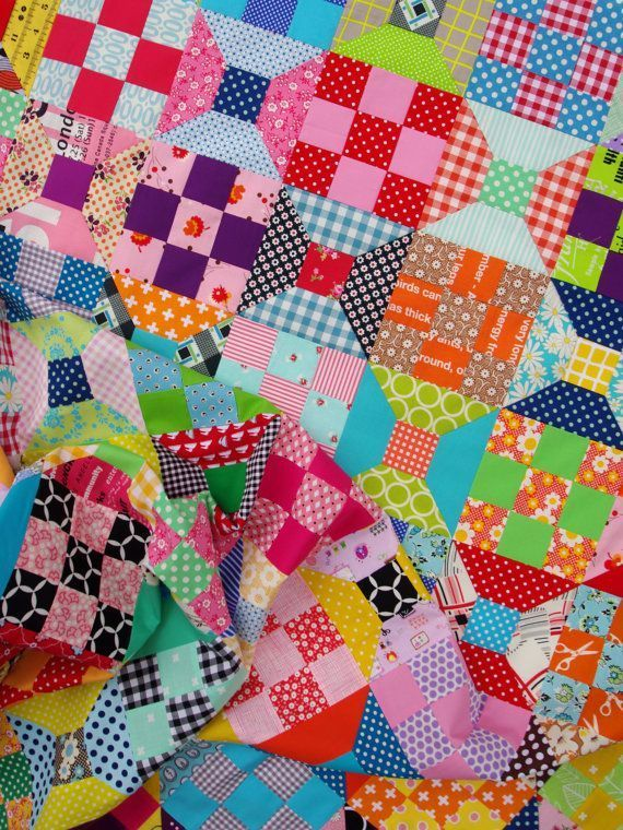 Spool Block - Traditional Quilt Block - Templates