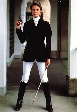 Alison Doody As Jenny Flex In A View To A Kill 1985 James Bond