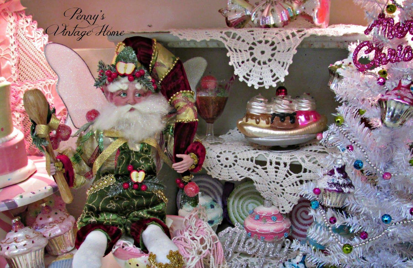 Pennyus vintage home christmas kitchen christmas ideas