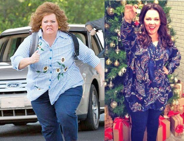 Kim Kardashian, Melissa McCarthy Credit 145-Lb Weight Loss ...