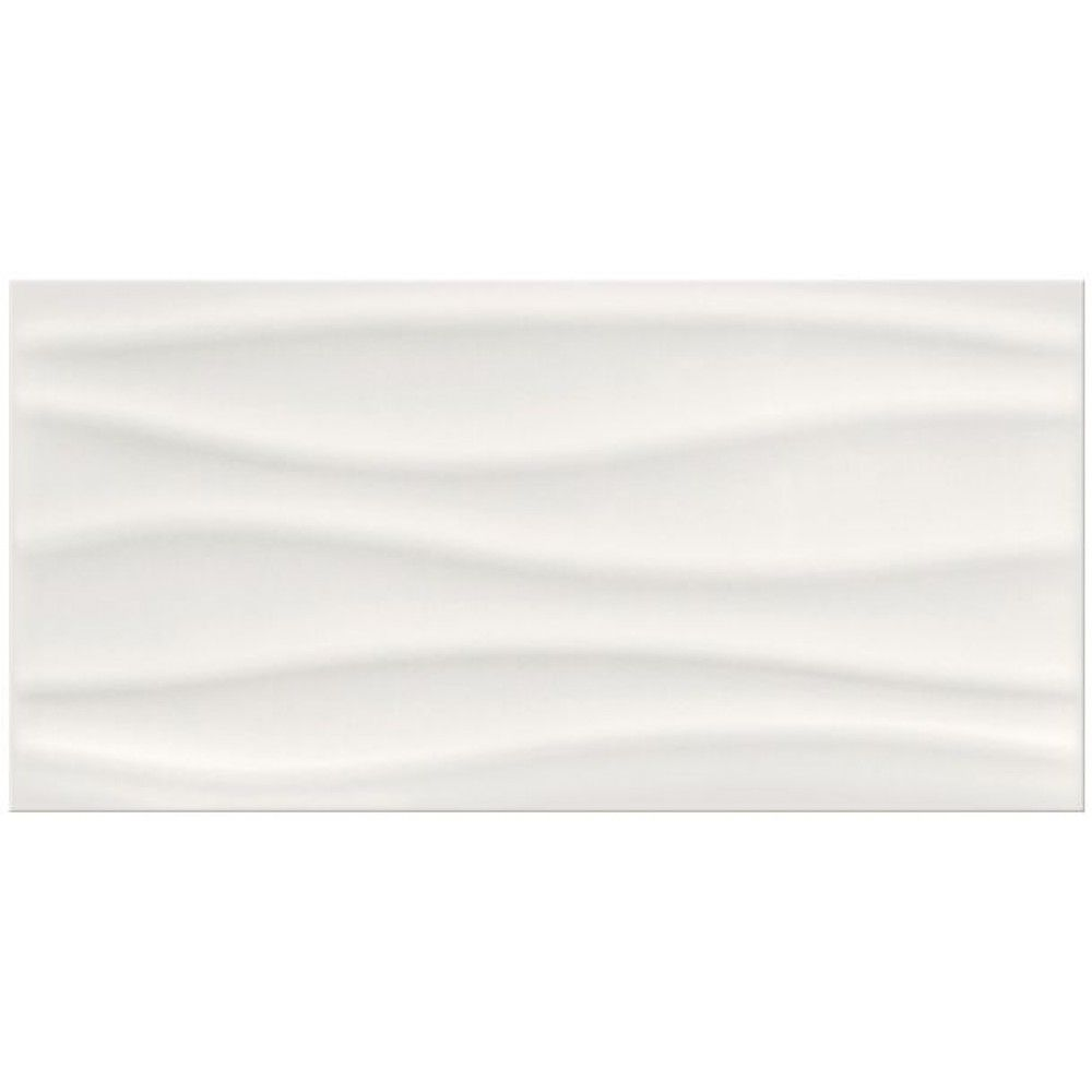 Barletta Wave White Glossy Gloss 3d D 233 Cor Feature Wall Tiles 30x60cm Wall Tiles Tiles