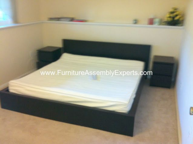 Ikea Malm Bed Frames And Night Stand Assembled In Downtown