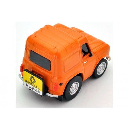 Choro Q Zero Z 46a Renault 4 Fourgonnette Orange Renault 4 Renault Model Kit