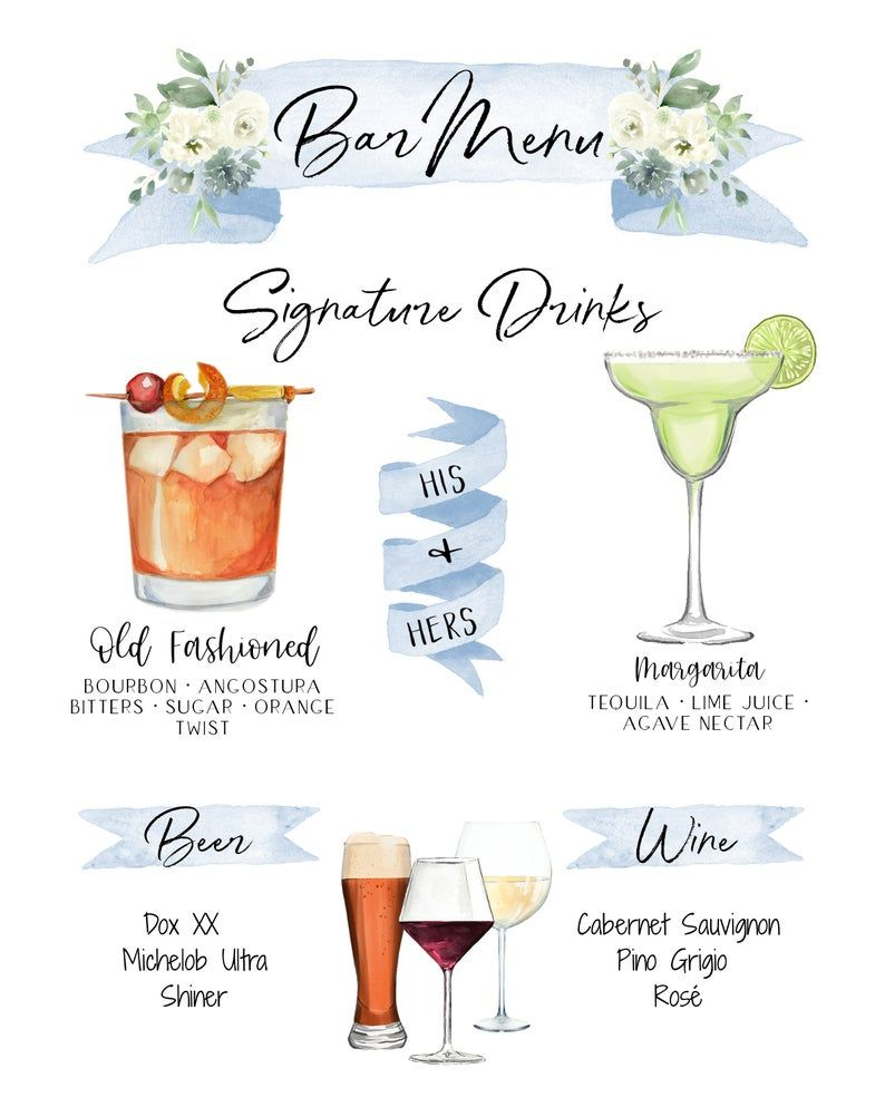 Design Your Own! 150 Drink Images + Garnishes Included