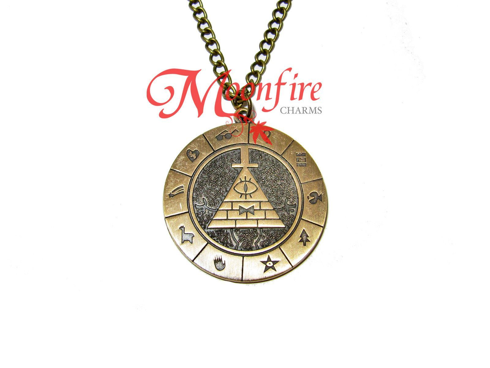 GRAVITY FALLS Bill Cipher Zodiac Pendant Necklace furniture