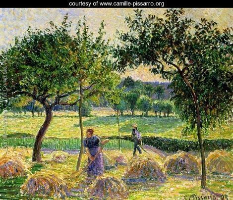 Bountiful Harvest, 1893 - Camille Pissarro -