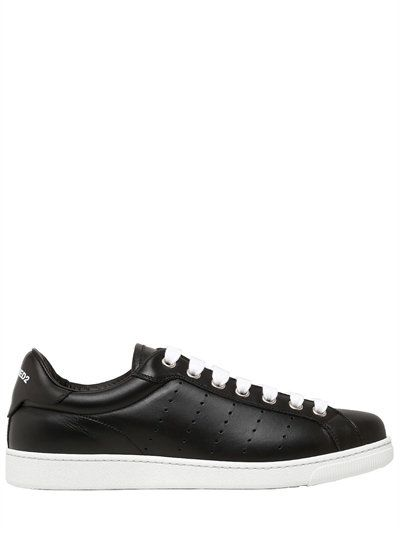 Dsquared2LEATHER LOW SNEAKERS zTAAXC