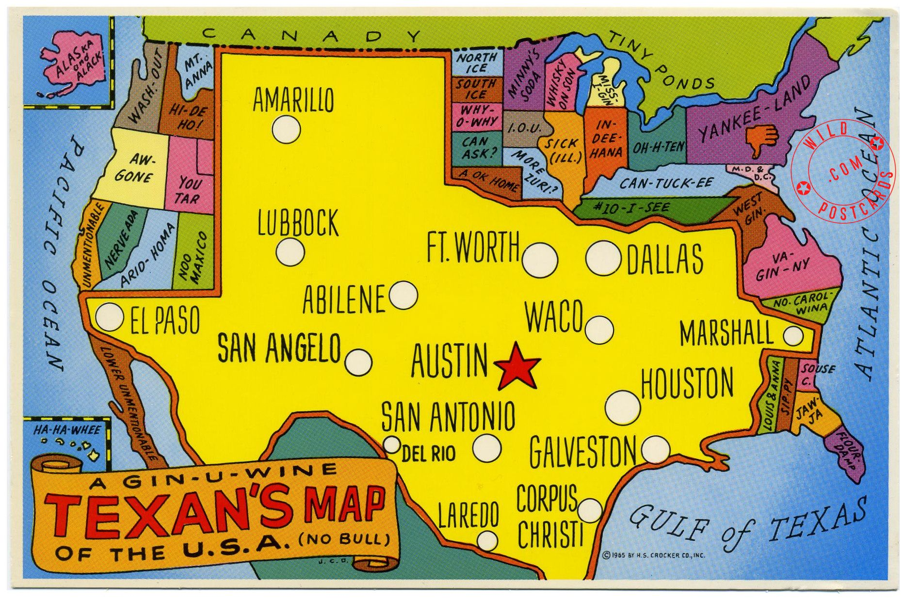 Funny Texas Maps Texas And West Texas - Us map without texas