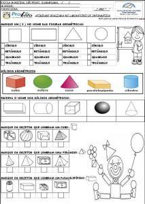 Solidos Atividades De Geometria Atividades De Matematica 3ano