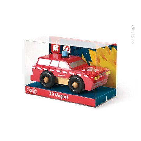 Magnetische brandweerwagen